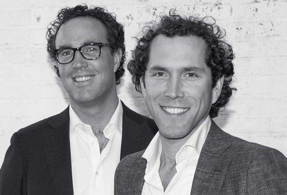 Lawyer Mathieu Vreeswijk and lawyer Vincent Melens